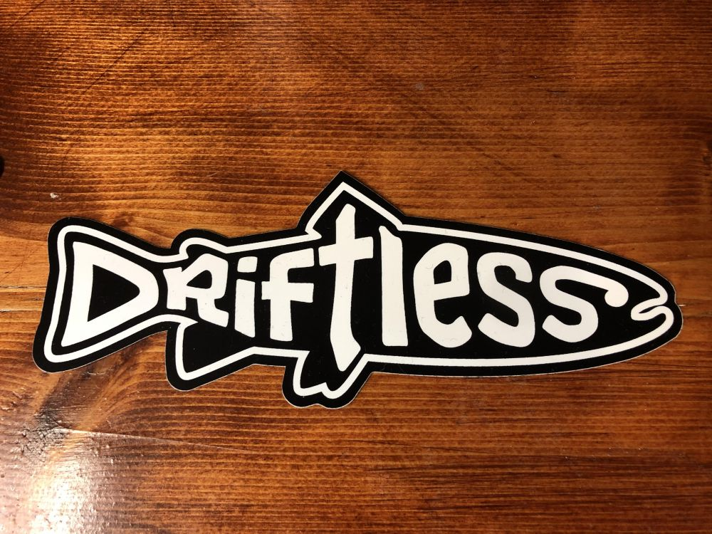 Driftless Sticker